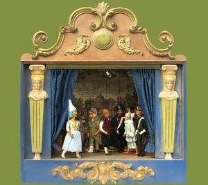 Sartoni Danilo Ravenna Italy - teatrino i pinocchio - Puppet Theatre