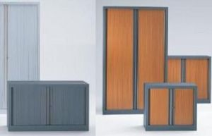 Abeg Gilmat -  - Side Tambour Cupboard