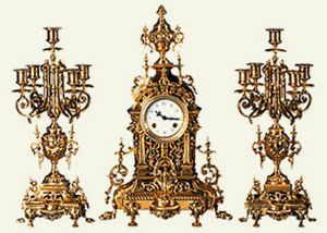 K. Mozer -  - Antique Clock