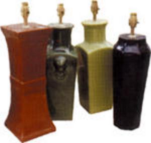 Tingewick Pottery -  - Lamp Stand
