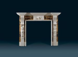 Jamb - russborough.  - Fireplace Mantel