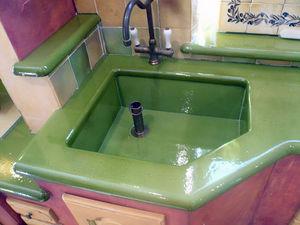 La Bresque - bac 5 pièces à assembler - Corner Sink