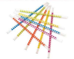 Le Torchon à Carreaux - pailles en technicolor - Straw