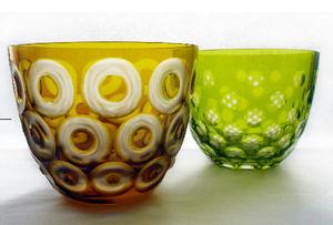 Rotter Glas -  - Candle Jar