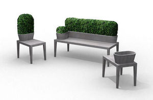B-Ton Design -  - Planter Bench