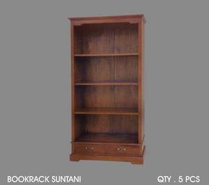 DECO PRIVE - bibliothèque en acajou suntani - Shelf