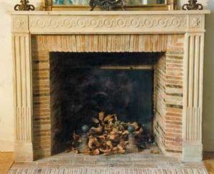 Jacques Pouillon -  - Fireplace Mantel