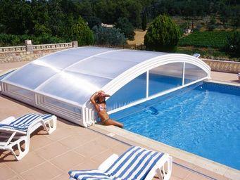 Abrideal - mezzo tpa - Sliding/telescopic Pool Enclosure