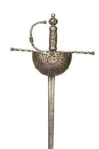 Peter Finer - rapière de 1680 - Sword