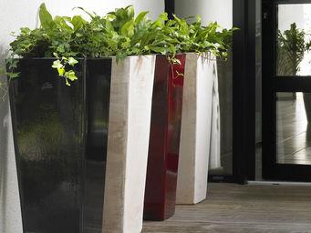 POTERIE GOICOECHEA - carré haut - Large Vase