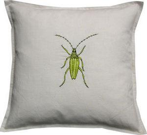 Barbara Coupe - lime bug - Pillow