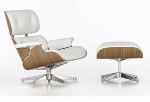 VITRA - loungechair & ottoman - Armchair And Floor Cushion