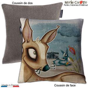 MARIE CAROTTE - echappée belle c - Children's Pillow