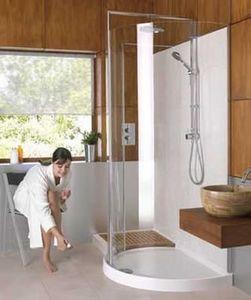 Matki - corner 1700 walk-in - Shower Screen Panel