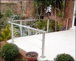 Porthole Vision Panels - porthole - Stair Railing