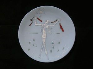 SYLVIA POWELL DECORATIVE ARTS - atalante - Decorative Platter