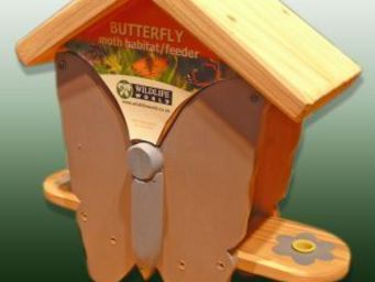 Wildlife world - butterfly/moth habitat/feeder interactive - Butterfly