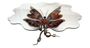 JOY DE ROHAN CHABOT - papillon - Oval Dining Table
