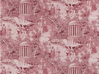 Equipo DRT - fontainebleau rosa - Toile De Jouy Print Material