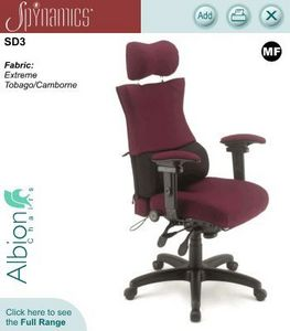 Albion Chairs - spynamics - Office Armchair
