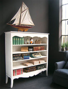 BLEU PROVENCE - vintage blanc - Open Bookcase