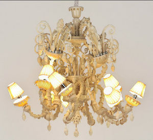Andromeda - melt meee 8 lights - Chandelier Murano