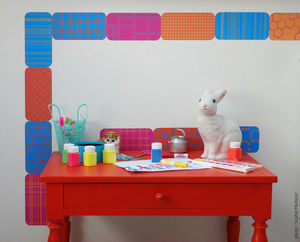 Walldesign - patch'n box #bs3 - coffret de 12 pièces - Sticker