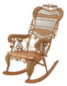 Safavieh - basket weave chair - Rocking Chair