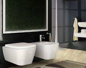 BLEU PROVENCE -  - Wall Mounted Toilet