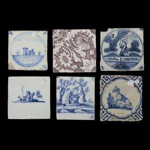 Expertissim - delft. ensemble de carreaux en faïence - Ceramic Tile