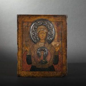Expertissim - icône russe, vierge du signe - Religious Icon