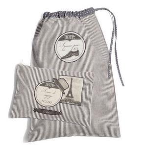 MAISONS DU MONDE - ensemble de 2 pochettes voyage homme - Drawstring Bag
