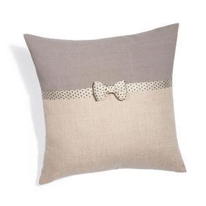 Maisons du monde - housse de coussin lady noeud - Cushion Cover