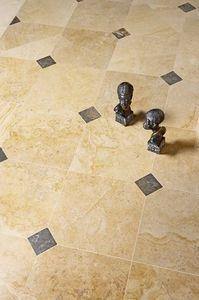 Occitanie Pierres - auberoche ocre & cabochons - Stone Tile