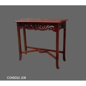 DECO PRIVE - console en bois d acajou job - Console Table