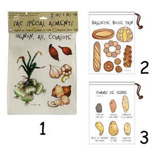 WHITE LABEL - sac de conservation spécial pomme de terres - Refrigerated Bag