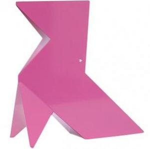 NATHALIE BE - origami henriette - lampe rose | lampe à poser nat - Table Lamp