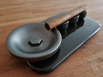 ALVARAE -  - Cigar Ashtray