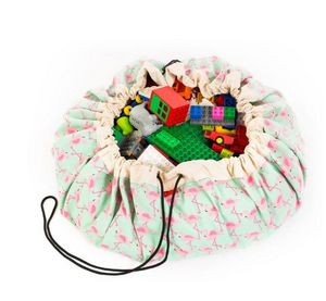 PLAY and GO - flamingo - Toy Bag