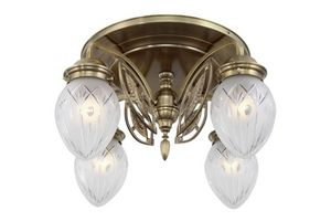 PATINAS - pannon 4 armed ceiling fitting - Ceiling Lamp