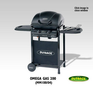 Outback (black Knight Barbecues)ltd -  - Gas Fired Barbecue