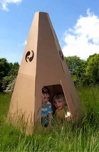 PAPERPOD - teepee - Children's Garden Play House
