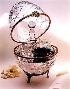 FABERGE-ART -  - Caviar Dish