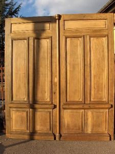Antiques Forain -  - Double Front Door
