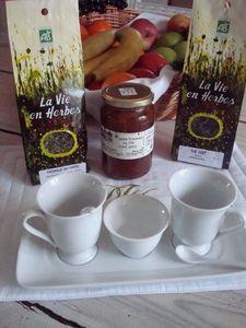 Dans les Jardins des Monastères -  - Breakfast Set