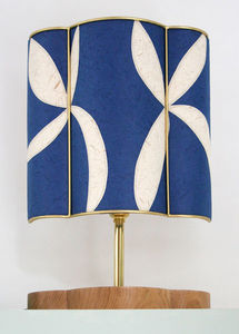 Sarah Walker Artshades - applique half shade - Table Lamp