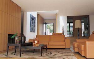 ROCHE BOBOIS - caramel - Living Room