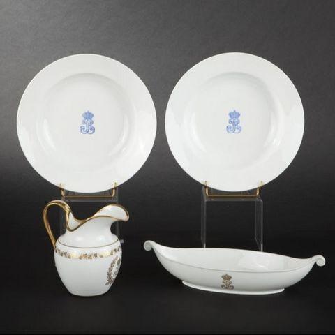 Expertissim - Carafe [antique]-Expertissim-Pot à eau, porcelaine de Sèvres, Service des Princ