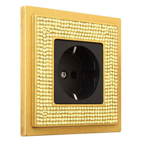 FEDE - Socket cover-FEDE-CRYSTAL DE LUXE ART COLLECTION