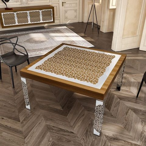 EMOTIONAL OBJECTS - Rectangular dining table-EMOTIONAL OBJECTS-Arabesque